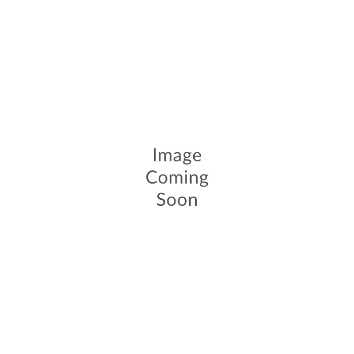 Sierfles 18xH40cm glas grijs ring Sorrento