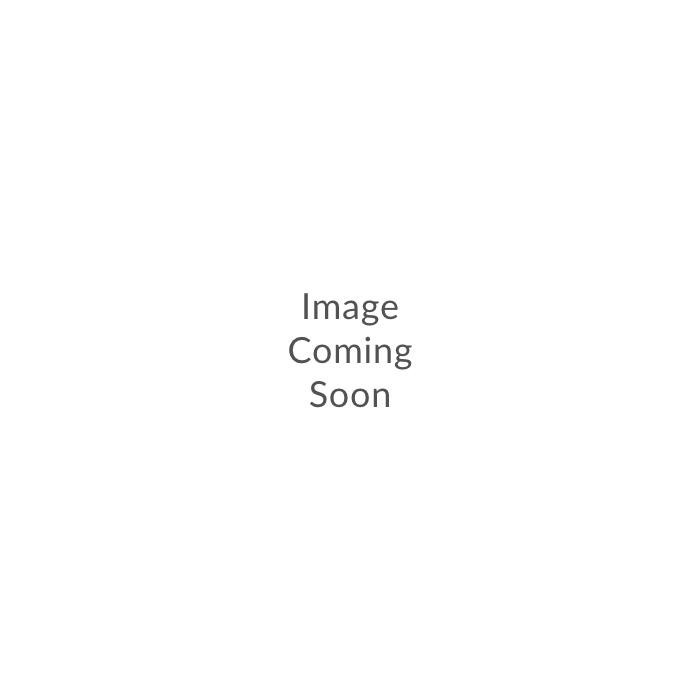 Sierfles 19xH31cm glas grijs ring Sorrento